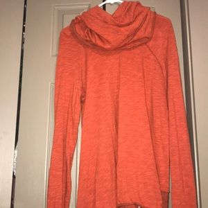 Free People Sweaters - Free People Beach Two Body Orange Pull Over